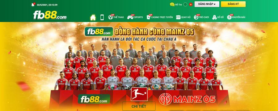 FB88 webssite cá độ bóng đá hàng đầu