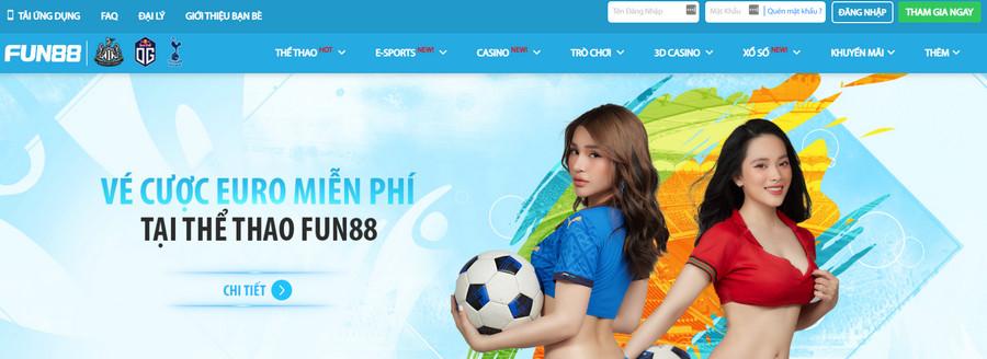 Fun88 web cá độ bóng đá online uy tín nhất 2021