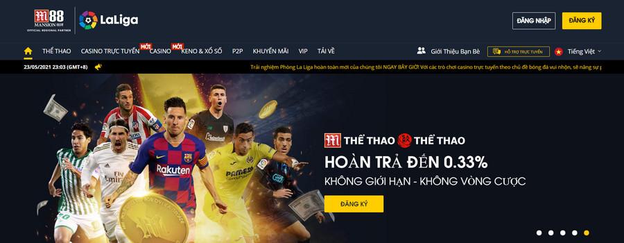 M88 web cá độ bóng đá online nhiều người chơi