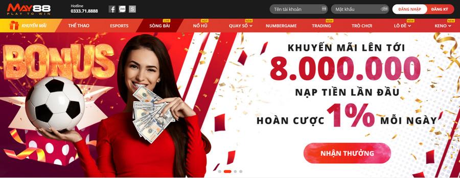 May88 nhà cái casino đến từ Ukraina