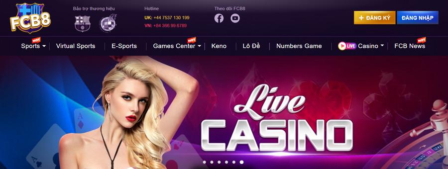 Nhà cái Casino uy tín từ châu âu FCB8