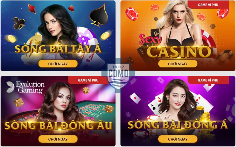 Chơi casino trực tuyến tại nhà cái Red88