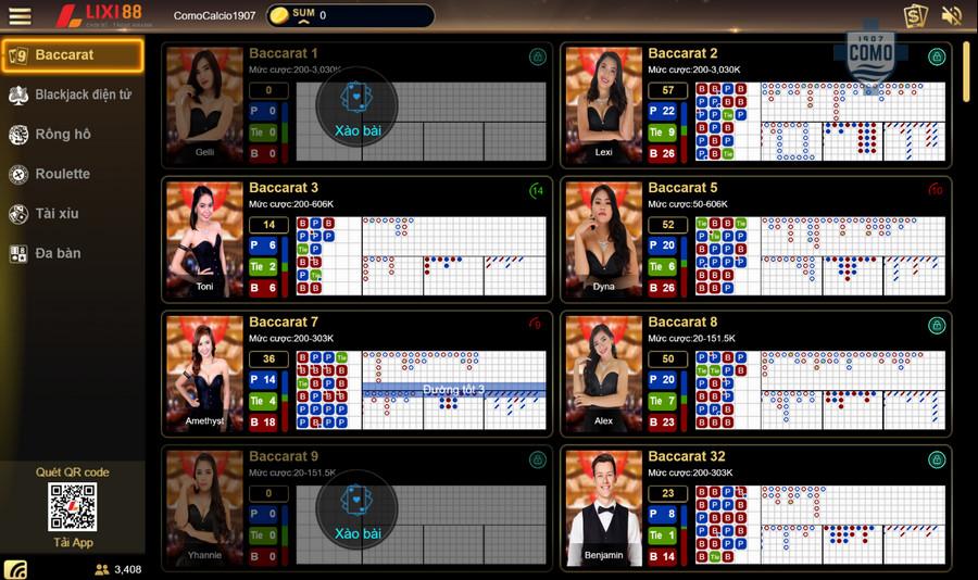 Live Casino tại Lixi88
