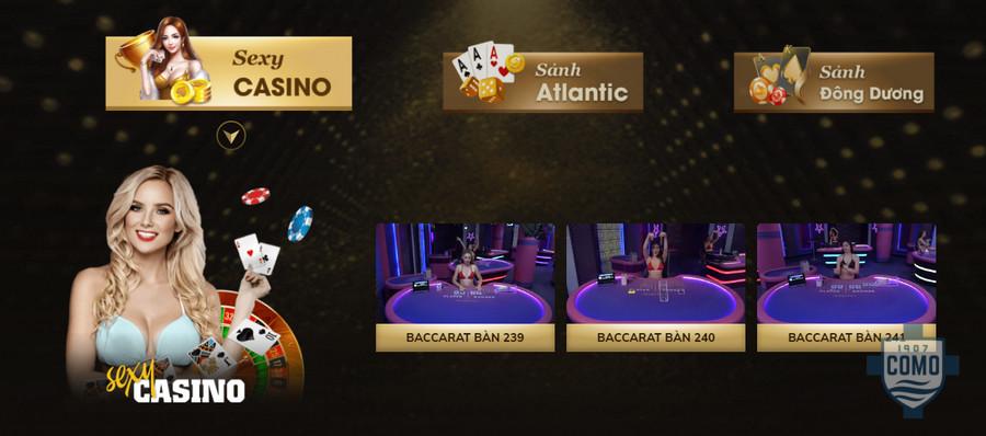 Live casino tại nhà cái Oxbet
