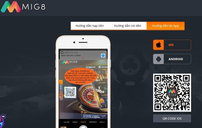 Tải app Mig8 cho Android