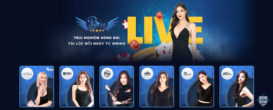 Sòng bài casino online tại Bwing