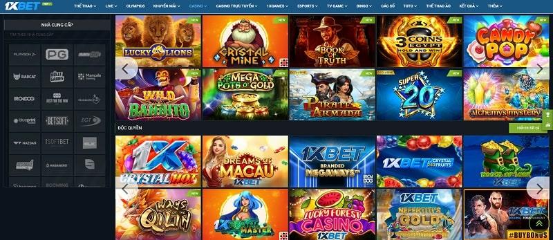 Casino tại nhà cái 1XBet
