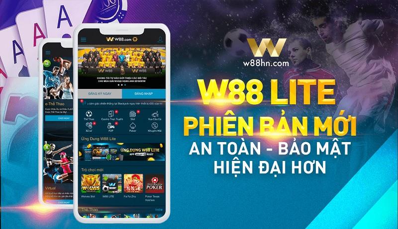 Ứng dụng W88 cho Android và iOS