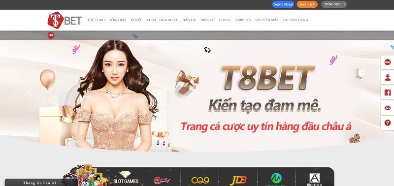 Web cá cược T8Bet