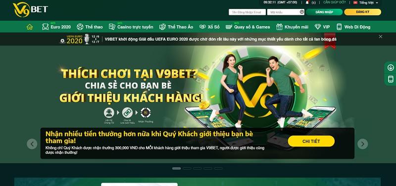 Web cá cược V9Bet