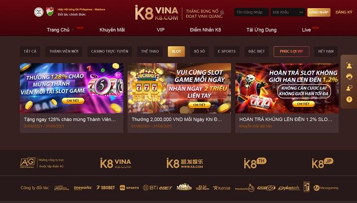 K8 Slot Game