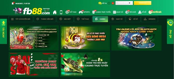Khuyến mãi Casino